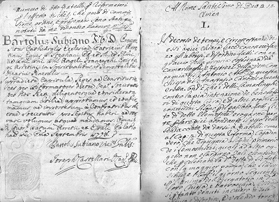 1697.....1830 Capitoli della Compagnia di S.Antonio Abate 1697.....1830 d (10)
