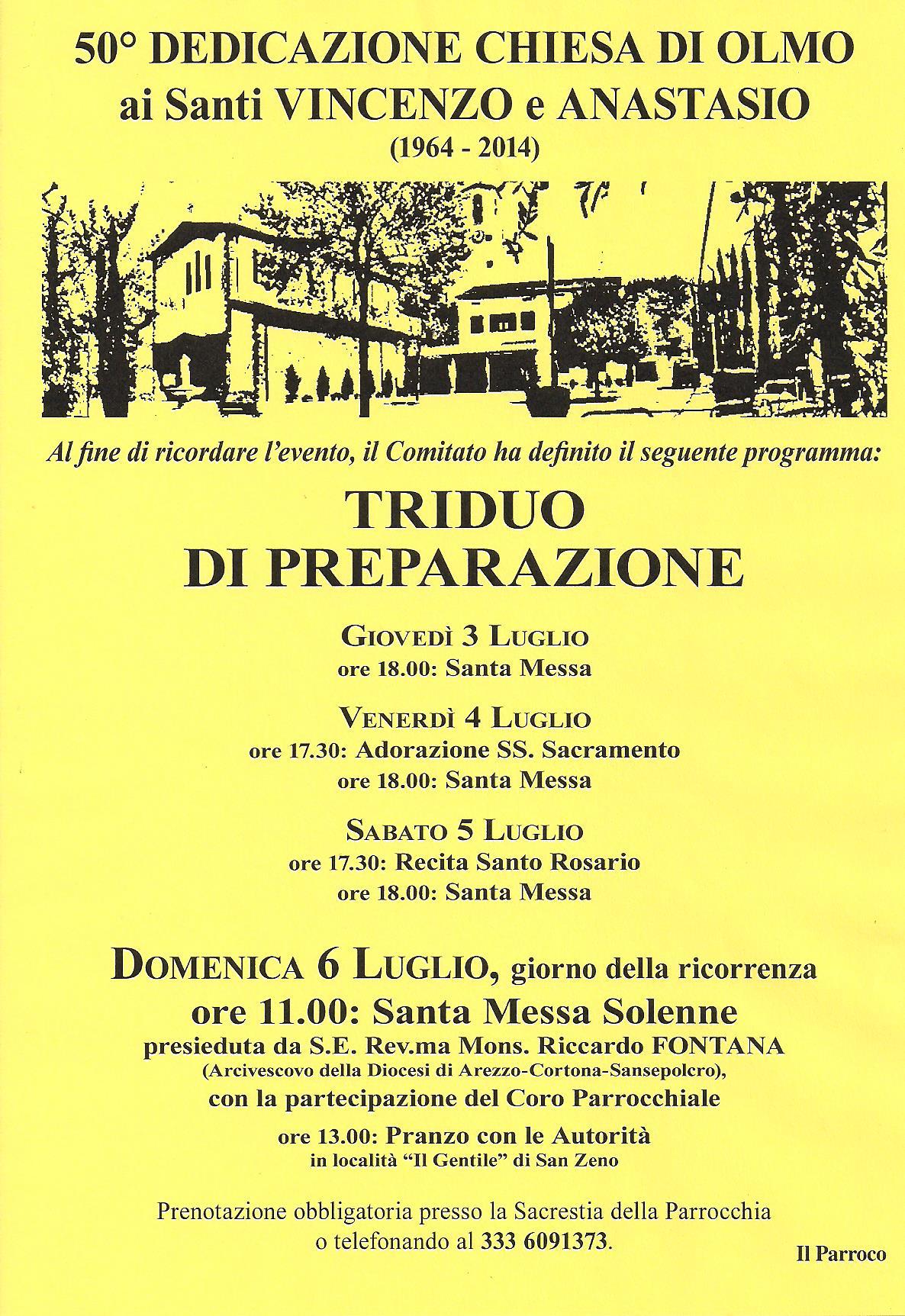 2014 Programma 50°