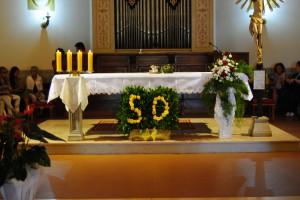 L'altare del 50°