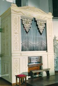 Organo ristrutturato nel 2001