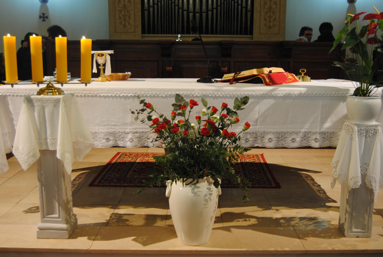 L'omaggio floreale ai nostri Patroni Santi Vincenzo e Anastasio